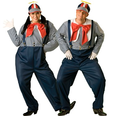 Tweedle Dee/Tweedle Dum Adult - Fairytale Classics Costume