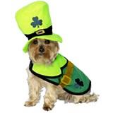 St. Patrick's Coat & Hat Pet Costume