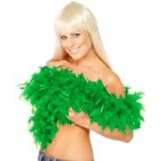 Feather Boa Emerald Green