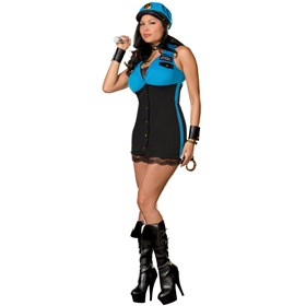 Detective Terri Gation Plus Adult Costume