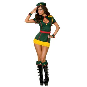 4 Star Pin-Up Adult Costume