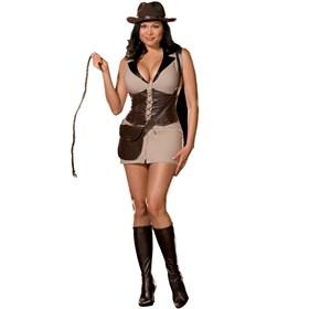 Treasure Hunter Plus Adult Costume