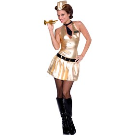 Boogie Bugle Babe Adult Costume