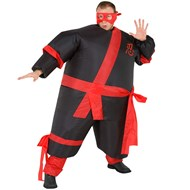 Inflatable Ninja Adult Costume