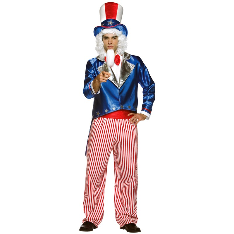 Uncle Sam Adult Costume for the 2015 Costume season.