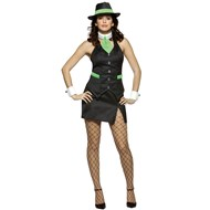 Gangster Doll Adult Costume
