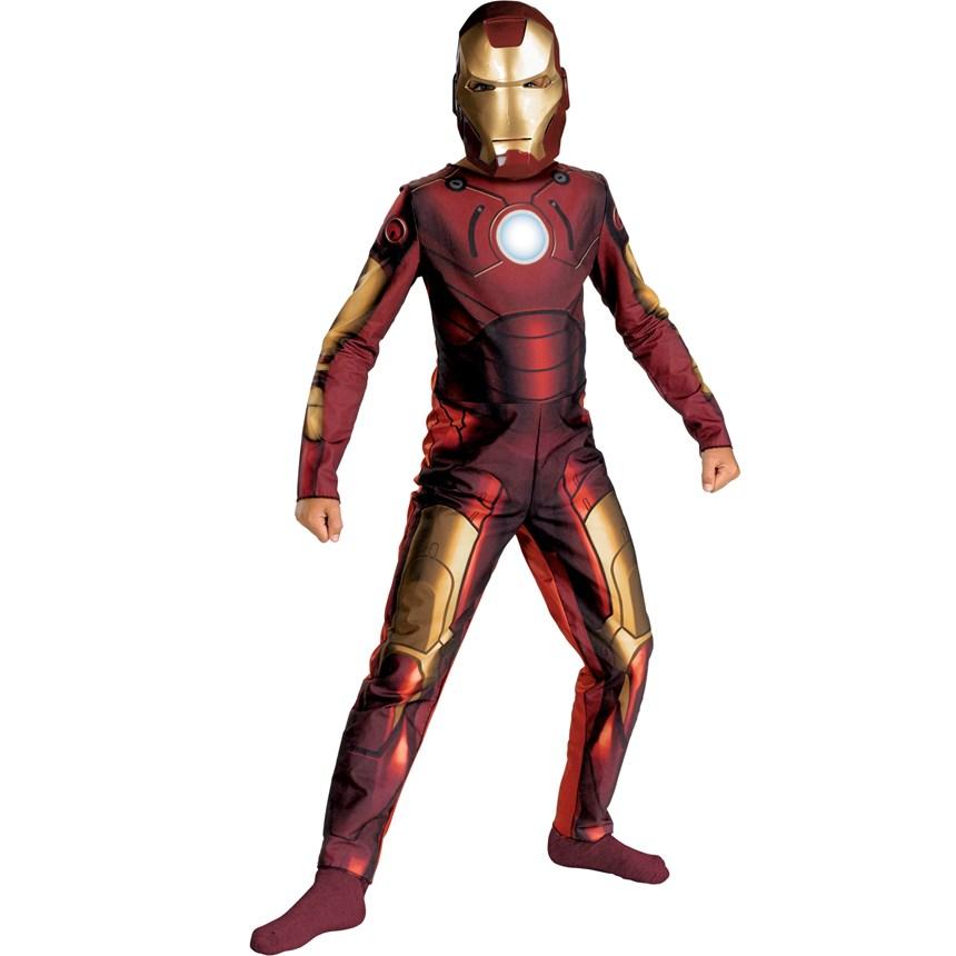 Halloween Costumes Iron Man 2008 Movie Child Costume