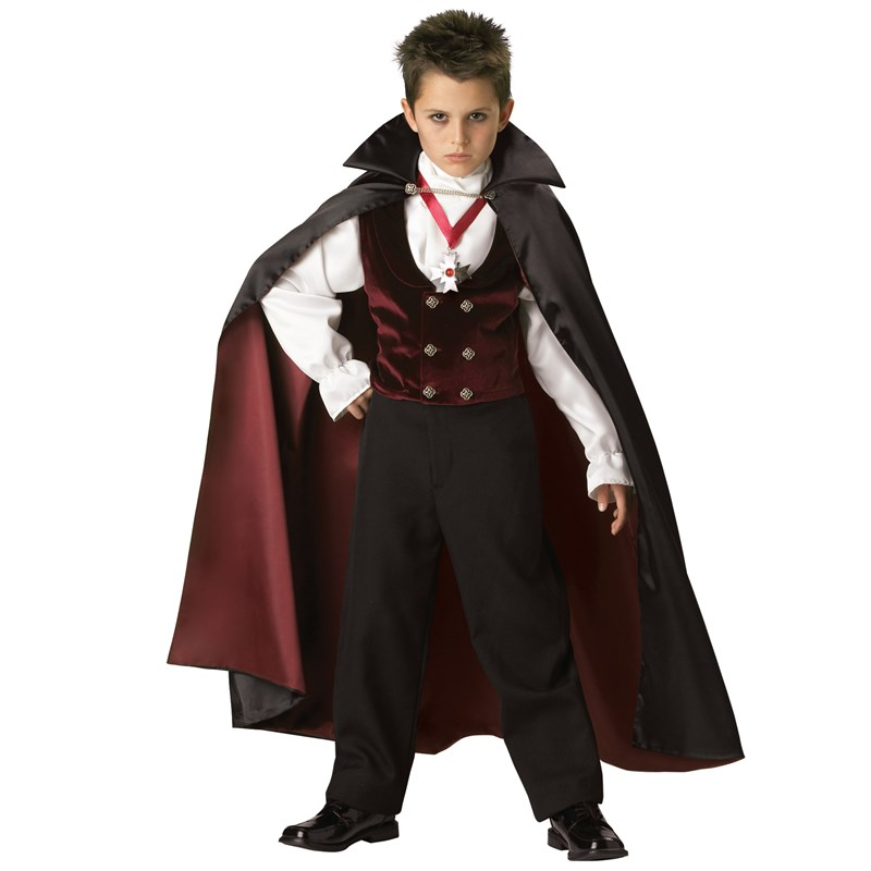Gothic Vampire Elite Collection Child Costume for the 2015 Costume season.