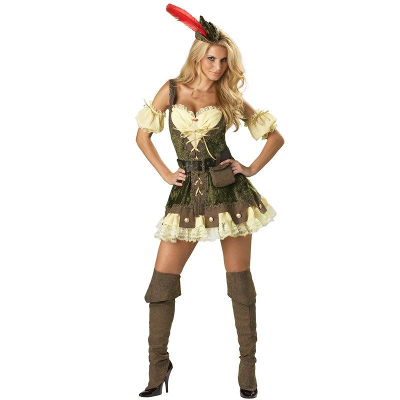 Racy Robin Hood Elite Collection Adult Costume for the 2015 Costume season.