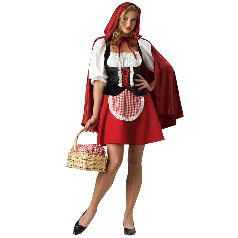 Red Riding Hood Elite Collection Adult Costume for the 2015 Costume season.