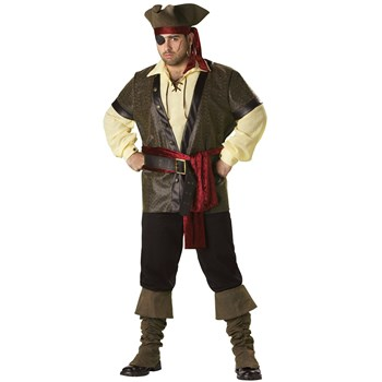 Rustic+Pirate+Elite+Collection+Adult+Plus+Costume