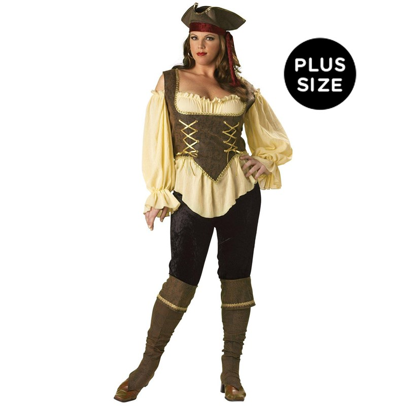 Rustic Pirate Lady Elite Collection Adult Plus Costume for the 2015 Costume season.
