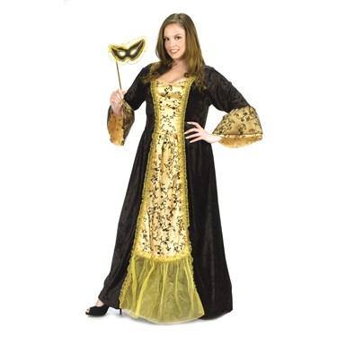 Masquerade Queen Adult Plus Costume