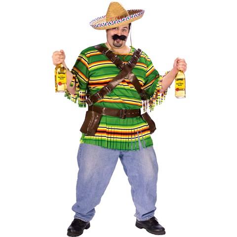 Tequila Pop N' Dude Adult Plus Costume