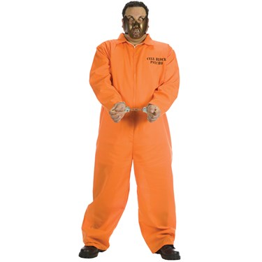 Cell Block Psycho Adult Plus Costume