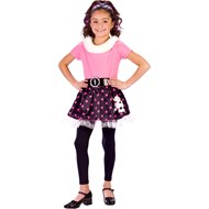 50's Poodle Dress Child Costume