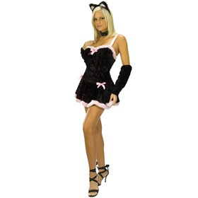 Kiss Me Kitty Adult Costume
