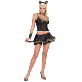 Prrrrfect Kitty Kat Adult Costume