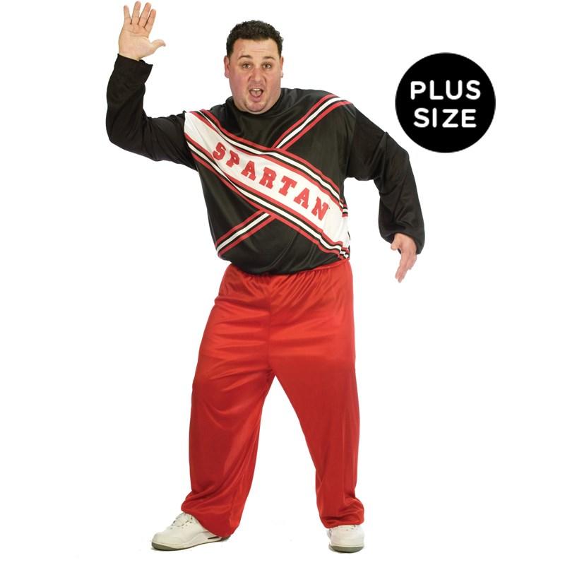 SNL Spartan Cheerleader Male Adult Plus Costume for the 2015 Costume season.