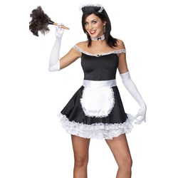 Frisky French Maid Adult Costume