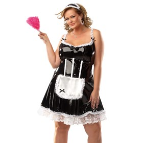 Darque French Maid Adult Plus Costume