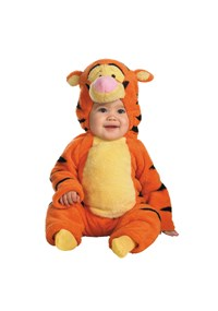 Click Here to buy Disney Winnie the Pooh - Tigger Baby Costume from BuyCostumes
