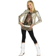 Hannah With Gold Jacket Child Costume