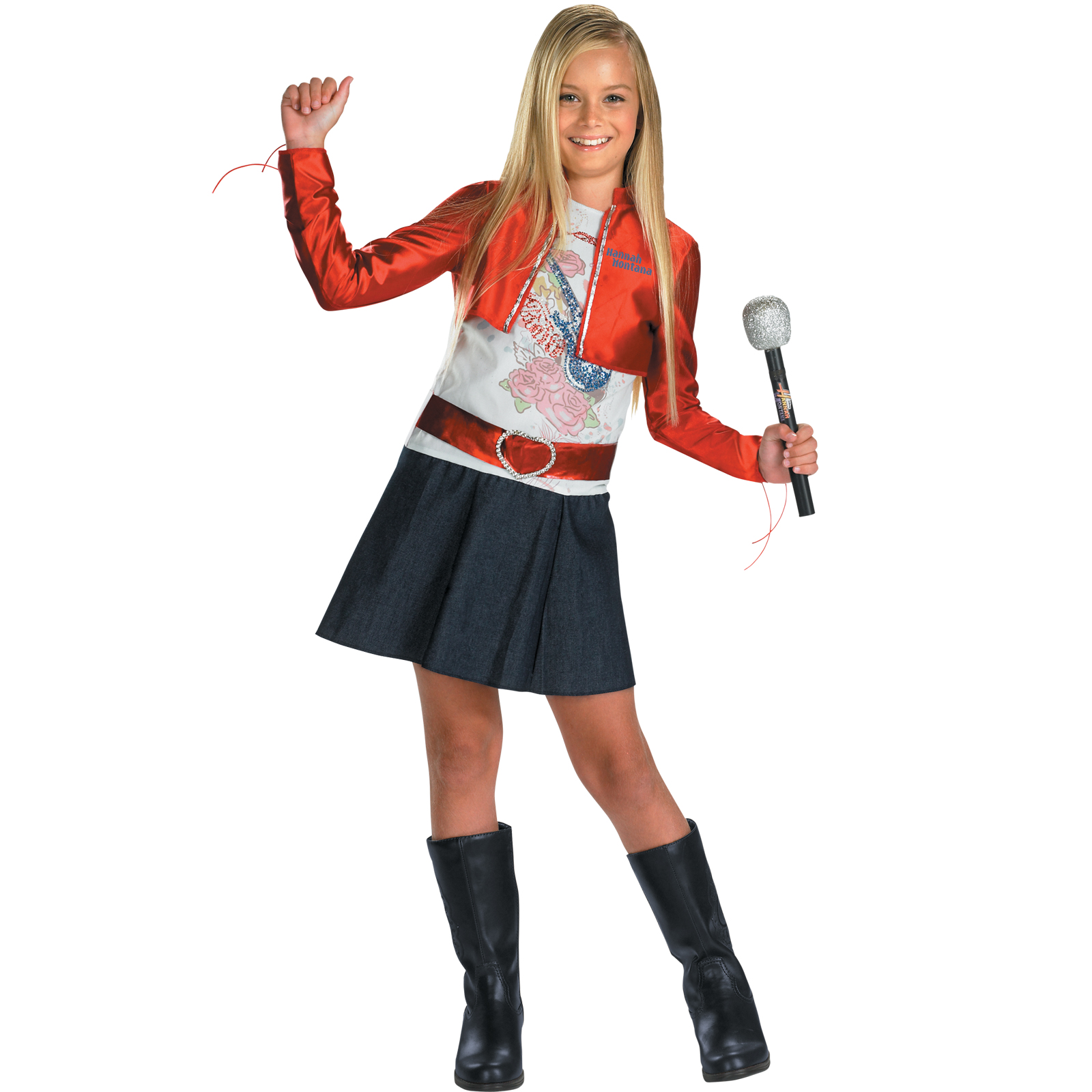 Hannah Montana Red Child Costume For This Halloween Cool
