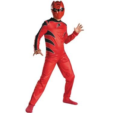 Power Rangers Jungle Fury Red Ranger Child Costume