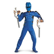 Reversible Ranger Red to Blue Muscle Child Costume