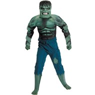 Hulk 2008 Movie Deluxe Muscle Chest Child Costume