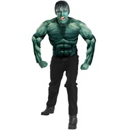 The Incredible Hulk 2008 Movie Muscle Chest Hulk Adult Costume