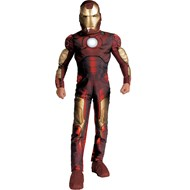 Iron Man 2008 Movie Light-Up Muscle Chest Child Costume