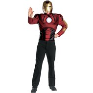 Iron Man 2008 Movie Muscle Chest Adult Costume