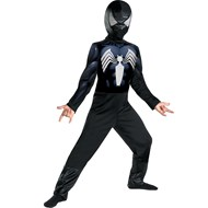 Black-Suited Spider-Man Child Costume