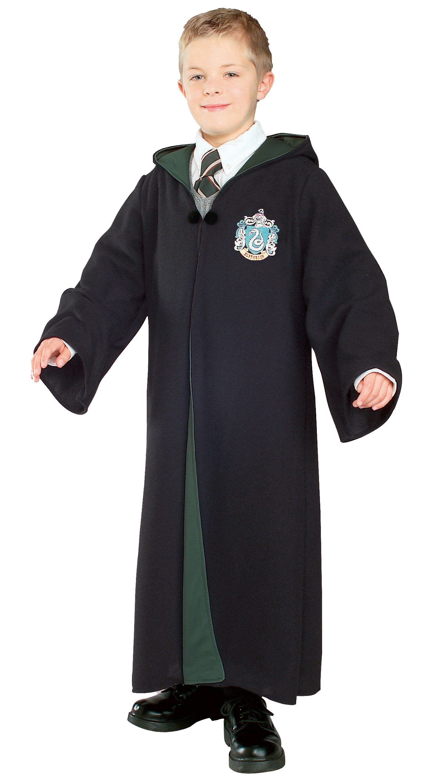 Image of Harry Potter - Deluxe Slytherin Robe Child Costume