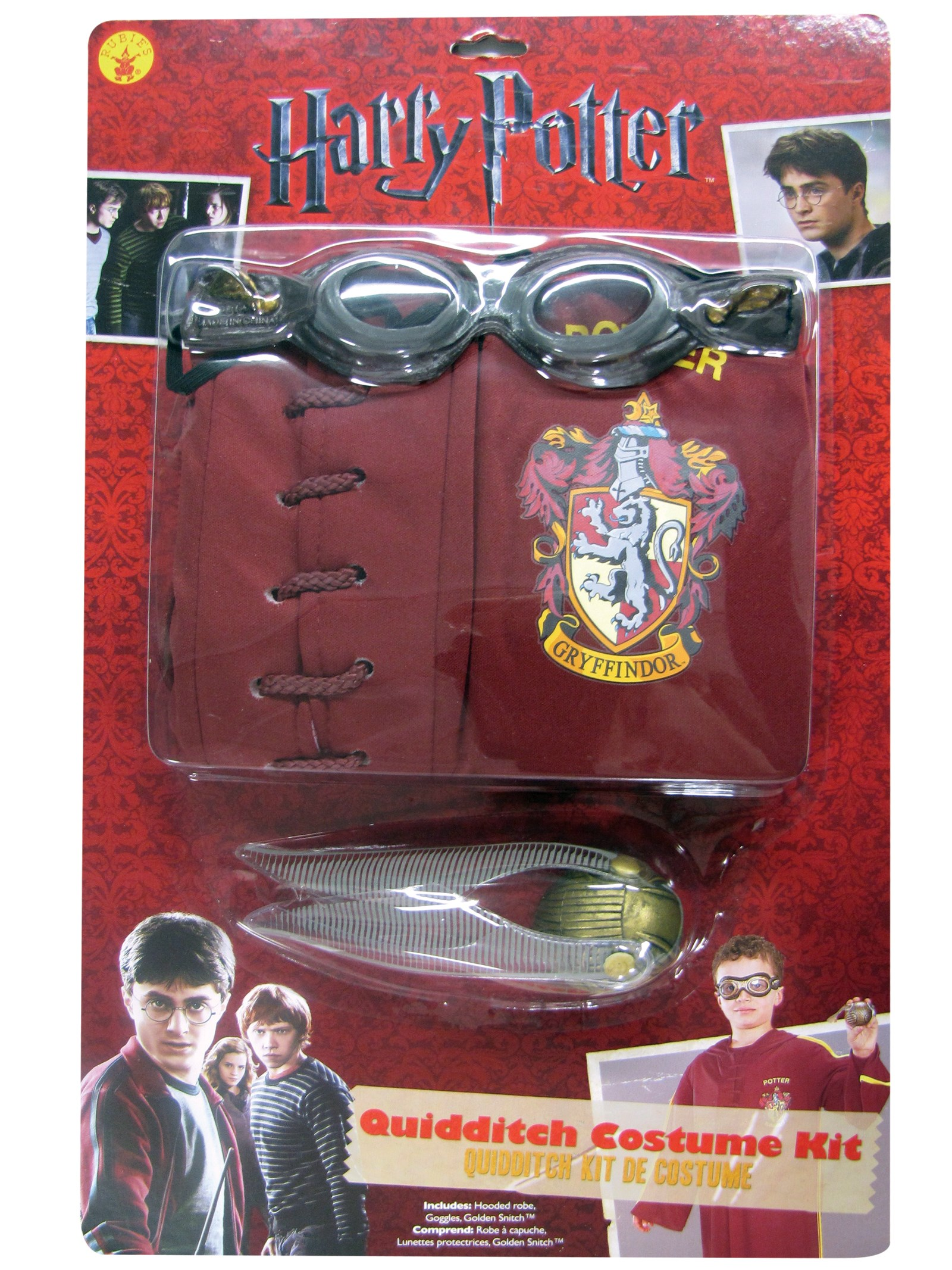 Image of Harry Potter - Quidditch Child Costume Kit