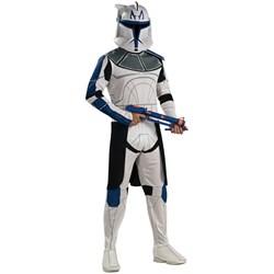 Star Wars Animated Clone Trooper Leader Rex Adult Costume