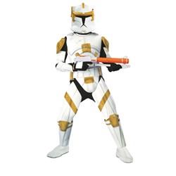 Star Wars Animated Clone Trooper Commander Cody Adult Costume
