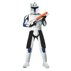 Star Wars Animated Deluxe Clone Trooper Captain Rex Adult Costume