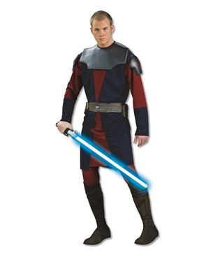 Star Wars Clone Wars Deluxe Anakin Skywalker Adult Costume