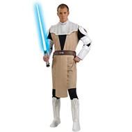 Star Wars Clone Wars Deluxe Obi Wan Kenobi Adult Costume