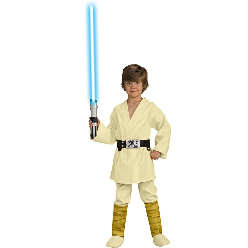 Star Wars Luke Skywalker Deluxe Child Costume for the 2015 Costume season.