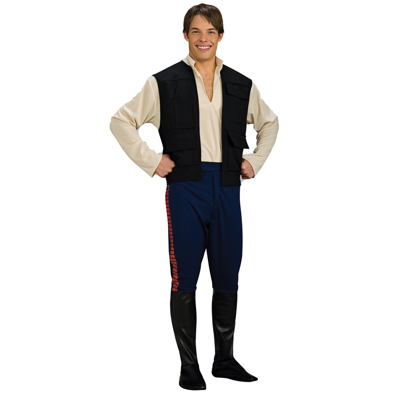 Star Wars Deluxe Han Solo Adult Costume for the 2015 Costume season.
