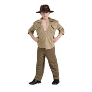 Indiana Jones Deluxe Muscle Chest Indiana Child Costume