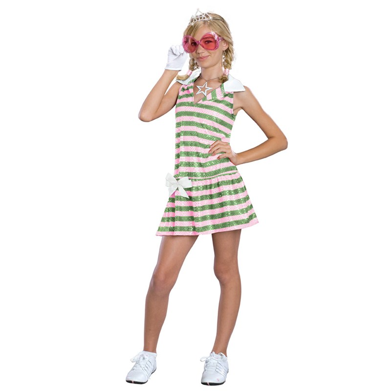 High School Musical 2 Sharpay Golf Child Costume for the 2015 Costume season.