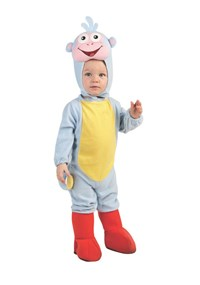 Click Here to buy Dora The Explorer Boots EZ-On Romper Baby Costume from BuyCostumes