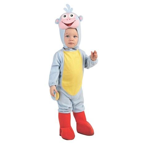 Dora The Explorer Boots EZ-On Romper Infant Costume