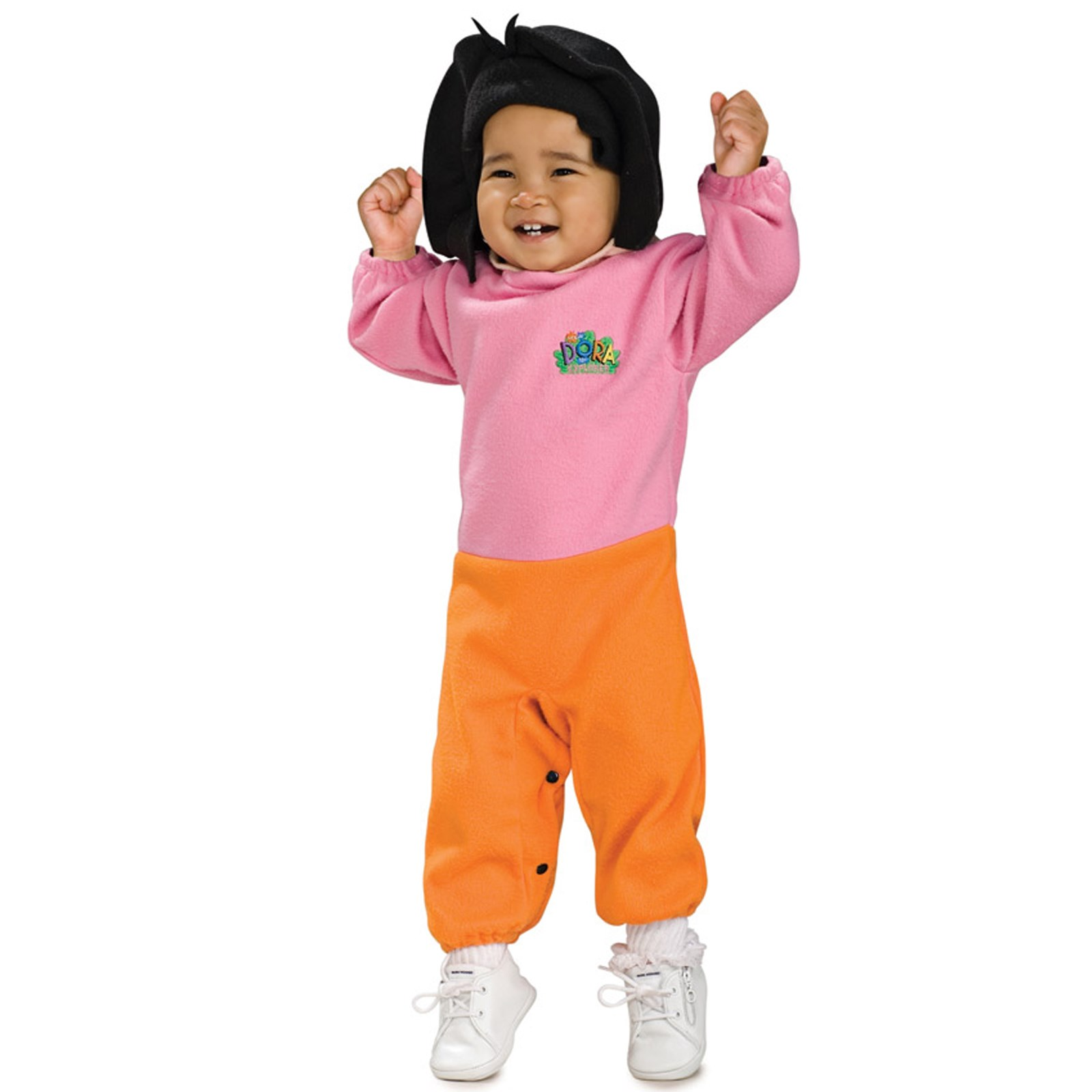 Dora The Explorer Dora EZ-On Romper Infant Costume | BuyCostumes.com