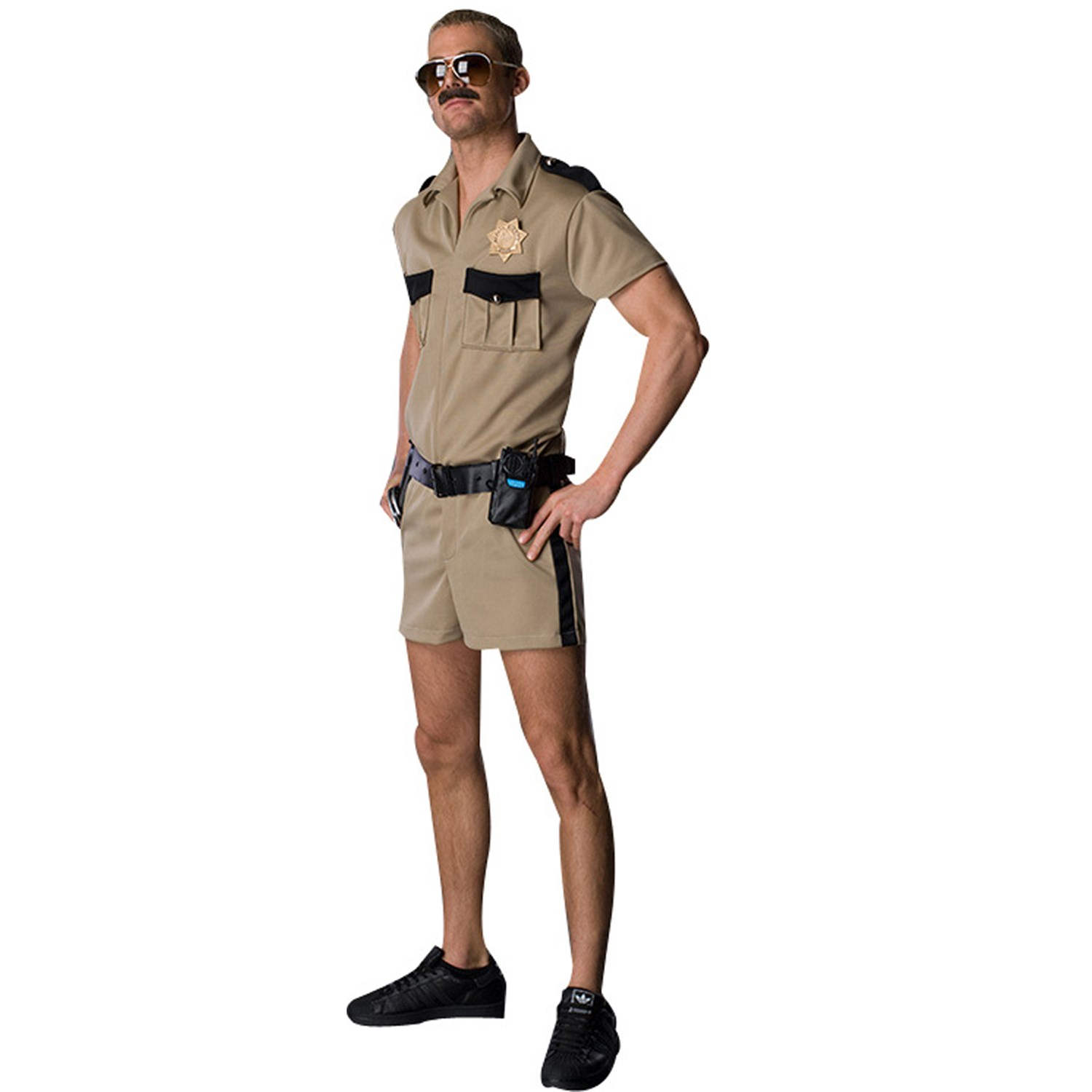 reno 911 lt dangle adult costume. Black Bedroom Furniture Sets. Home Design Ideas